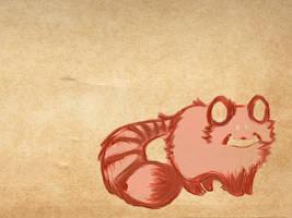 red panda by tifachu