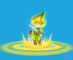 LINK from Minish cap game by alucardracula