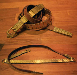 Lamellar belt (Vendel and/or early viking period) by Fuindae