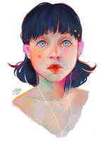 Portrait by Katsuvy