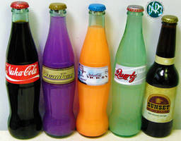 Fallout 3 and New Vegas Soda by DCRIII
