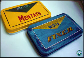 Fallout 3 Mentats and Fixer by DCRIII