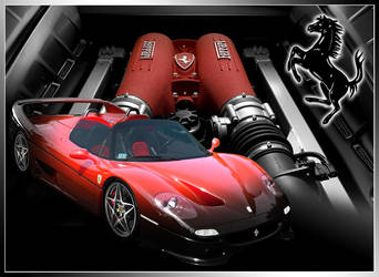Modded Ferrari F50 for Ruter by krazykohla
