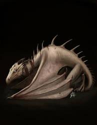 Dragon by wakedeadman