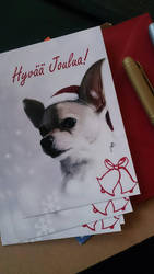 Christmas cards by wakedeadman