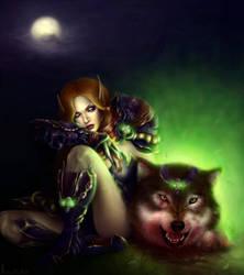 The healing spell by Ksulolka