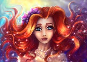 The little mermaid by Ksulolka