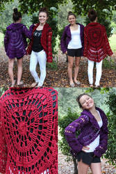 Drops Circle Jackets by designsbymishi