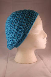 Crochet Slouchy Hat by designsbymishi