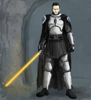 Solus Gar, Mando Jedi by borkweb