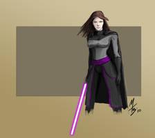 Krath Dark Jedi: Female Human by borkweb