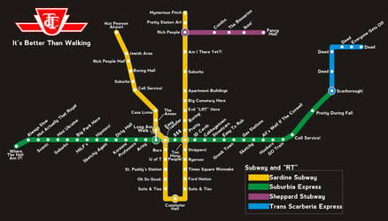 TTC Parody Map by TXTCLA55