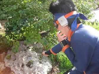 Obito And The Boulder by SasukeDoppelganger