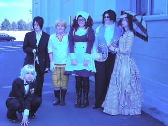 Phantomhive Household by SasukeDoppelganger