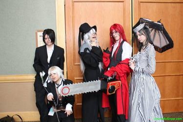 Kuroshitsuji Cast by SasukeDoppelganger