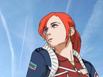 Queen of the Sky by SasukeDoppelganger