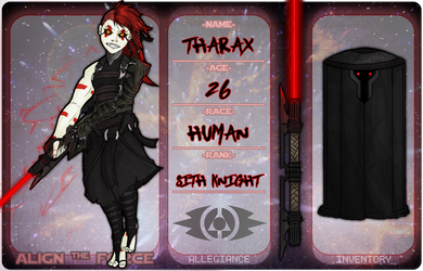 ATF | Tharax | WIP by The-Red-Right-Hand
