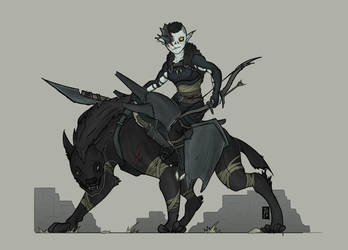 Mordor Orc Rider by The-Red-Right-Hand