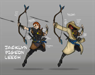 Jacklyn 'Pigeon' Leech by The-Red-Right-Hand