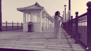 lady@pier II by blueyguana