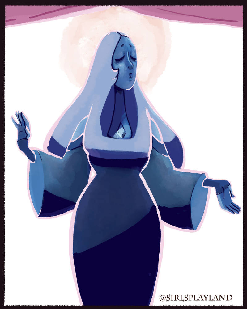 An illustration of Blue diamond