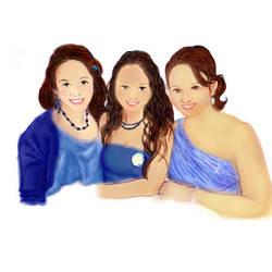 3 Sisters Digital Painting by LAvenus79