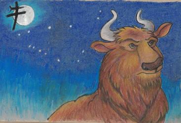 Celestial Bull by LAvenus79