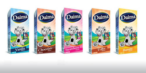 milk packaging by superduper