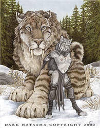 Snow Cats by darknatasha
