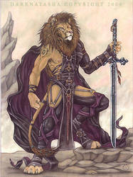 Panther Leo by darknatasha
