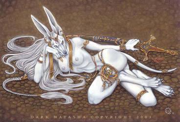 Syria Goddess Of Illusion by darknatasha