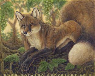 Fox and the Grapes by darknatasha