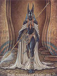 Anubis Lord by darknatasha
