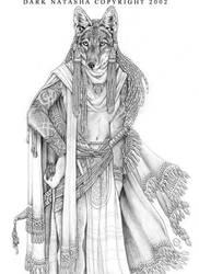 Ethiopian Wolf by darknatasha