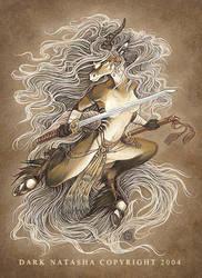 Storm Kirin by darknatasha