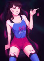 Casual D.Va by Morthiasik