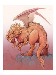 Dragon by Damadgon
