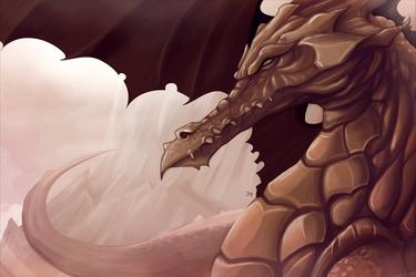 Red Dragon by Damadgon