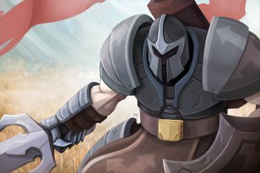 White Knight by Damadgon