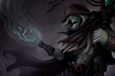 Undead Necromancer by Damadgon