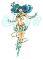 OSI Qualifier: Sailor Marin by thelettergii