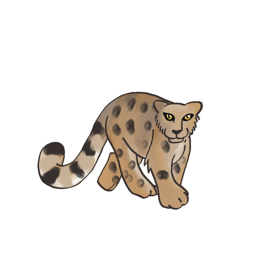 Snow Leopard - WIP by Nailkita