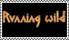Running Wild Stamp by Horsesnhurricanes