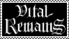 Vital Remains: Stamp by Horsesnhurricanes