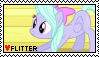 Flitter stamp by Horsesnhurricanes