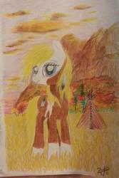 Cimarron Pone by Horsesnhurricanes