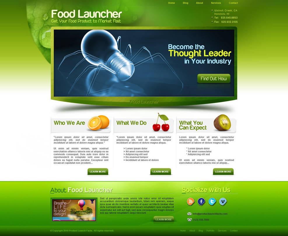 Food Launcher by bojok-mlsjr