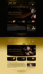 Hair Extension Wigs Web Design by bojok-mlsjr