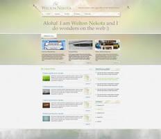Welton Nekota .com  Web Design by bojok-mlsjr
