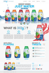 Web Page Design for Water Enhancer by bojok-mlsjr
